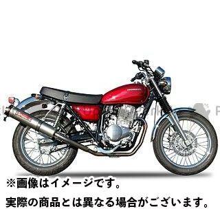 【エントリーで最大P21倍】ヤマモトレーシング CB400SS CB400SS SPEC-A ステンレス2-1 チタン ダウン YAMAMOTO RACING