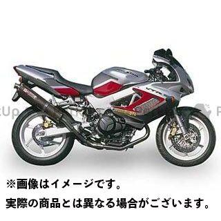 ヤマモトレーシング ファイアーストーム マフラー本体 VTR1000F SPEC-A ステンレス2-1-2サイレンサー カーボン
