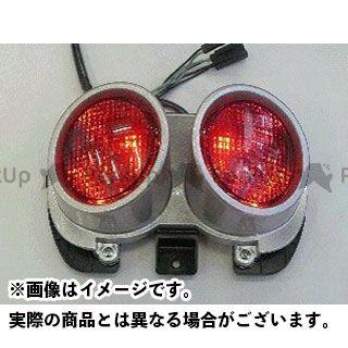 オダックス GSR400 GSR600 テール関連パーツ LEDクリアテールライト(スモーク)
