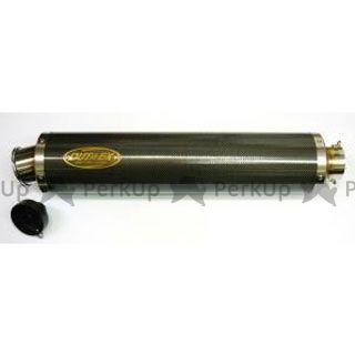 アウテックス 汎用 インナーサイレンサー ビッグバイク用 カーボンサイレンサー φ115×450L