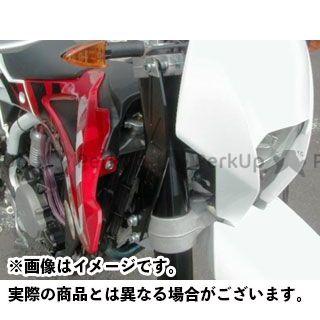 アウテックス SM 250R SMR 450 SM 510R SM250R/450R/450RR/510R(2007/2008年)用 ステアリングステムスタビライザー カラー:ブラックアルマイト OUTEX
