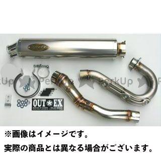 【エントリーで最大P21倍】アウテックス YZ450F YZ450F(2007-2008年)用 マフラー タイプ:OUTEX.R-TST OUTEX