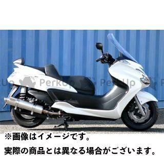 【無料雑誌付き】アウテックス グランドマジェスティ400 GRAND MAJESTY400(2008-2012)用 マフラー タイプ:OUTEX.R-ST-CATALYZE(S/O) OUTEX
