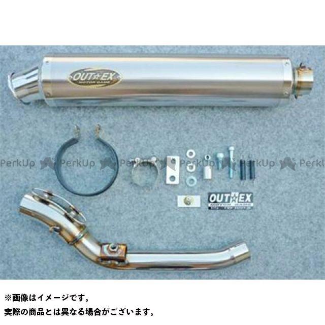 【特価品】アウテックス WR250R WR250X WR250R/X用 マフラー/スリップオン タイプ:OUTEX.R-ST(S/O) サイレンサー長:400mm サイレンサーエンドコーンカバー:有 OUTEX