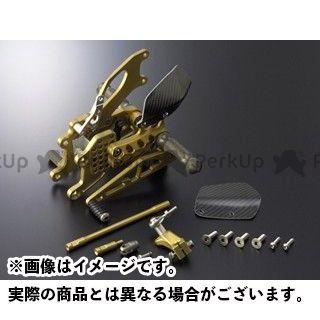 ギルズツーリング CBR1000RRファイヤーブレード バックステップ関連パーツ バックステップ プレッシャーSW付き ゴールド