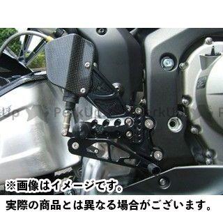 【エントリーで更にP5倍】ギルズツーリング CBR600RR バックステップ プレッシャーSW付き カラー:ブラック GILLES TOOLING