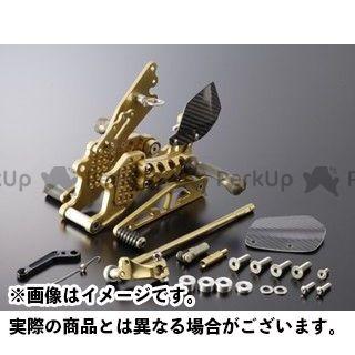 ギルズツーリング CBR600RR バックステップ関連パーツ バックステップ プレッシャーSW付き ゴールド