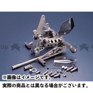 ギルズツーリング ニンジャZX-6R ニンジャZX-9R バックステップ プレッシャーSW付き ハード GILLES TOOLING