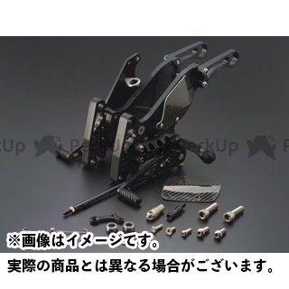ギルズツーリング Z1000 バックステップ プレッシャーSW付き ブラック GILLES TOOLING