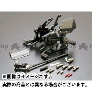 ギルズツーリング CBR600RR バックステップ関連パーツ バックステップ VCR38(ブラック)