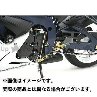 ギルズツーリング GSX-R1000 GSX-R600 GSX-R750 バックステップ関連パーツ バックステップ VCR38GT ゴールド