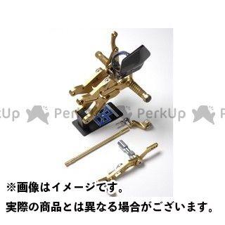 ギルズツーリング YZF-R1 バックステップ関連パーツ バックステップ VCR38 ゴールド