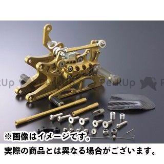 ギルズツーリング YZF-R1 バックステップ関連パーツ バックステップ プレッシャーSW付き ゴールド