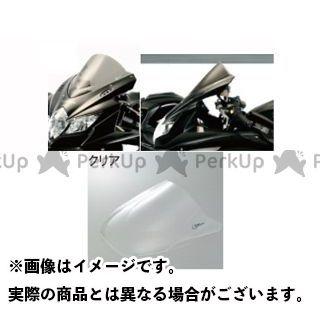ゼログラビティ バンディット1200S バンディット1250S スクリーン ダブルバブル クリア