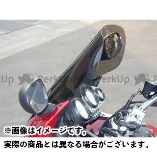 ゼログラビティ ZR-7S スクリーン スポーツツーリング ダークスモーク