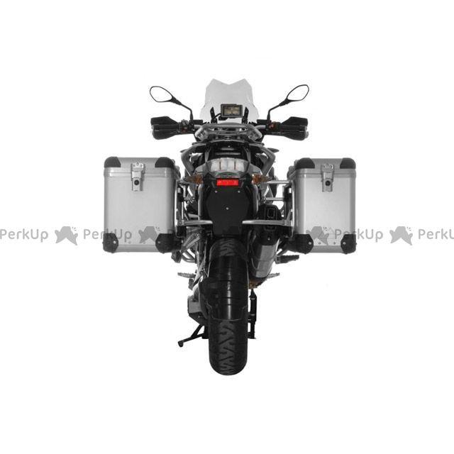 ツアラテック TOURATECH ZEGA-PRO 「and-S」 パニア・スペシャルキット 38+45L(シルバーフレーム) R1200GS(2013-)