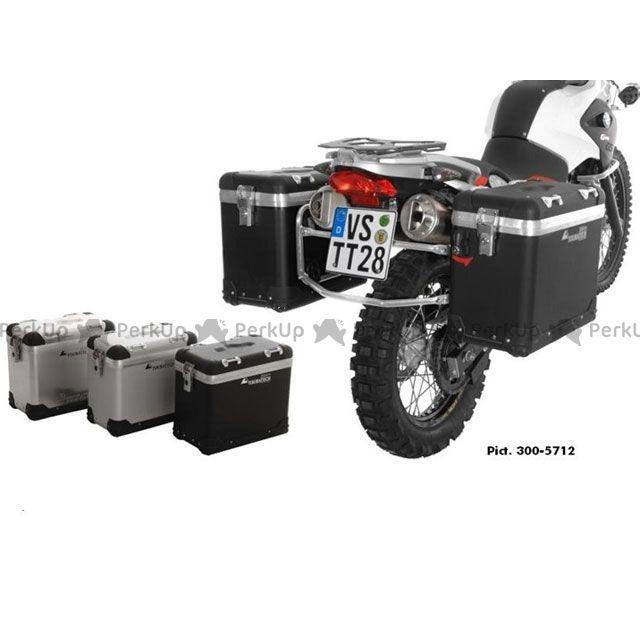 ツアラテック ZEGA-PRO アルミニウムパニアシステム 31+31L BMW F650GS/F650GS Dakar/G650GS/G650GS Sertao(シルバーフレーム)  TOURATECH