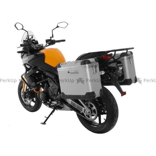ツアラテック TOURATECH ZEGA-PRO「And-S」アルミニウムパニアシステム 31+31L Kawasaki Versys 650(2012-)/ブラックフレーム