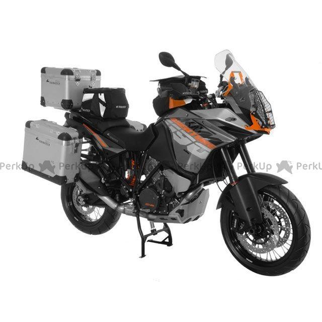 ツアラテック TOURATECH ZEGA-PRO「And-S」アルミニウムパニアシステム 31+38L KTM 1190 Adventure/R(シルバーフレーム)