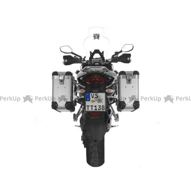 ツアラテック TOURATECH ZEGA-PRO2「And-S」アルミニウムパニアシステム 31+31L Ducati Multistrada 1200(シルバーフレーム)