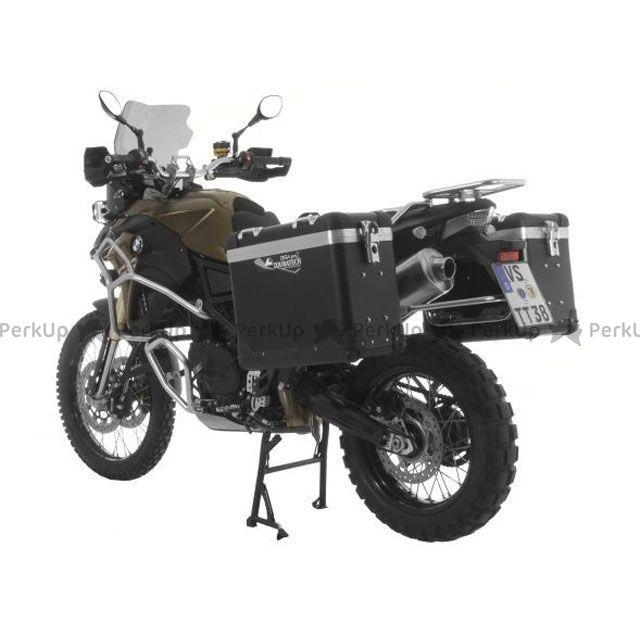 ツアラテック TOURATECH ZEGA-PRO2「And-black」アルミニウムパニアシステム 31+38L BMW F800GS/F700GS/F650GS(Twin)/ブラックフレーム