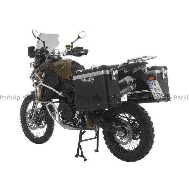 ツアラテック TOURATECH ZEGA-PRO2「And-black」アルミニウムパニアシステム 31+38L BMW F800GS/F700GS/F650GS(Twin)/シルバーフレーム