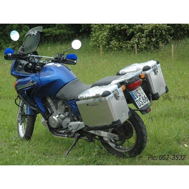 ツアラテック TOURATECH ZEGA-PRO「And-black」アルミニウムパニアシステム 38+38L Honda Transalp 650(2000-)/ブラックフレーム