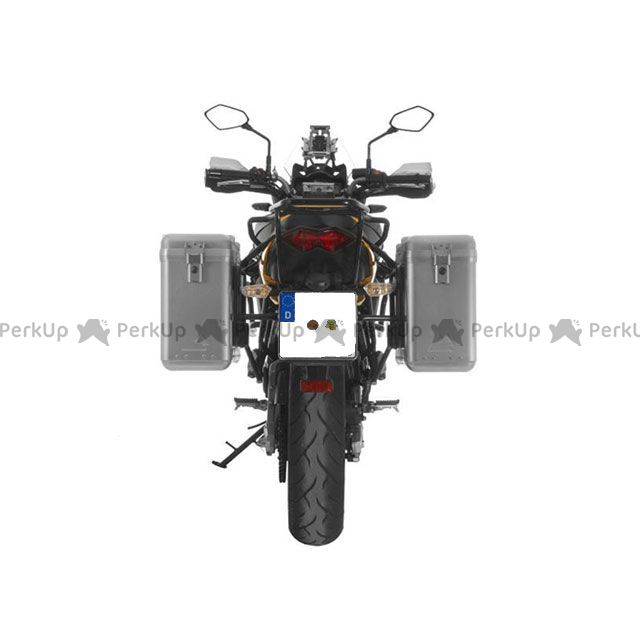 ツアラテック TOURATECH ZEGA Mundo アルミパニアシステム【アルミ無塗装】 31L+31L Kawasaki Versys 650(2010-2014)(ブラックフレーム)