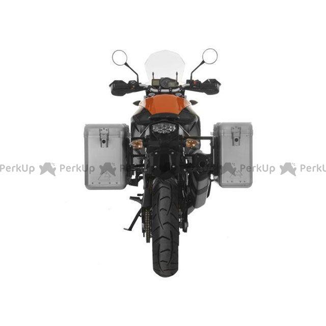 ツアラテック TOURATECH ZEGA Mundo アルミパニアシステム【アルミ無塗装】 31L+38L KTM 1050 Adventure/1290 Super Adventure/1190 Adventure/R ブラックフレーム