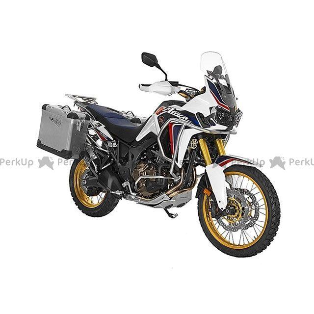 ツアラテック TOURATECH ZEGA Pro2 『アルミ無塗装』 【38L+45L】 アルミパニアシステム Honda CRF1000L Africa Twin 【ブラックフレーム】