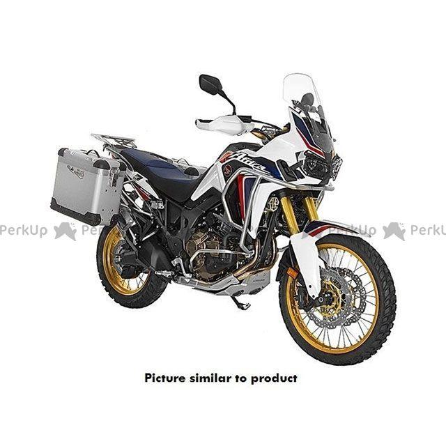 ツアラテック TOURATECH ZEGA Pro 『アルマイトシルバー』 【38L+45L】 アルミパニアシステム Honda CRF1000L Africa Twin 【シルバーフレーム】