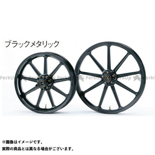 グライド ダイナファミリー汎用 アルミニウム鍛造ホイール フロント(215-19) ダブルディスク カラー:ブラックメタリック GLIDE