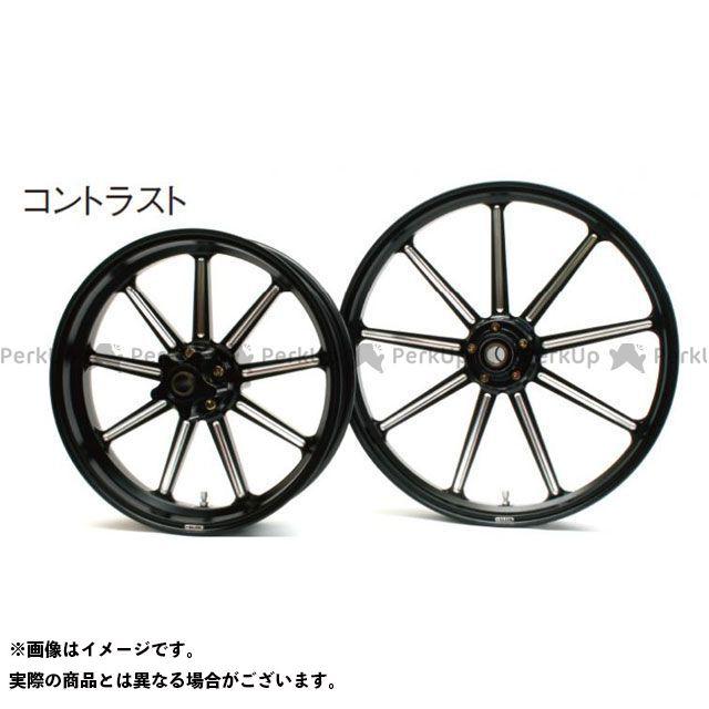 グライド スポーツスター XL883L スーパーロー アルミニウム鍛造ホイール フロント(350-18) シングルディスク カラー:コントラスト GLIDE