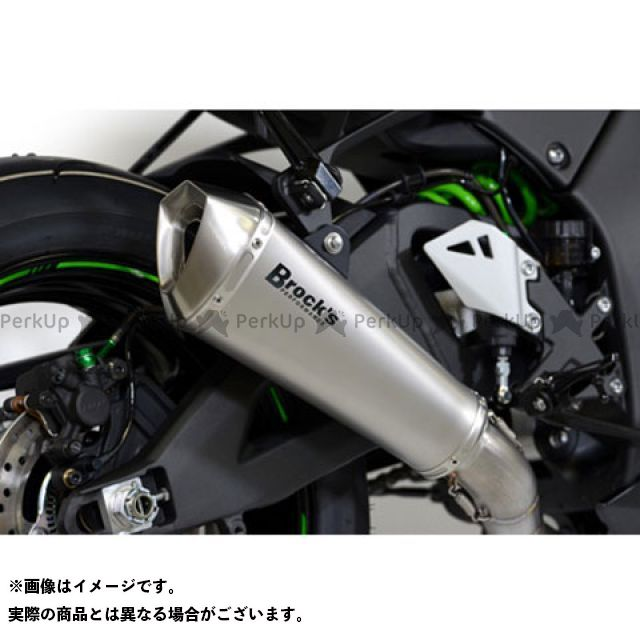 ブロックス ニンジャZX-10R マフラー本体 ZX10R 16- Predator Slip-On プレデターチタン