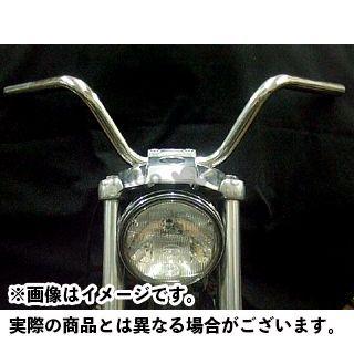 【無料雑誌付き】フォーク ハーレー汎用 ナローライズクランプ+バーセット(タイプH/ミディアムライズ) FORK