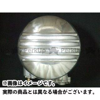 フォーク ハーレー汎用 3Dラウンド エアクリーナー フィン for S&S B、ケイヒンバタフライ FORK