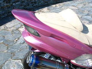 クローバー マジェスティ125 カウル・エアロ 125マジェスティ リアスポイラー