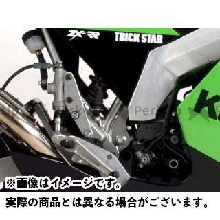 【エントリーで更にP5倍】トリックスター KSR110 バックステップ(シルバー) TRICKSTAR