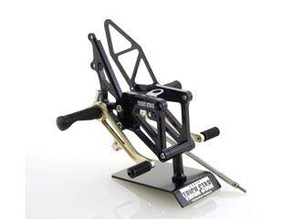 トリックスター ニンジャZX-6R ニンジャZX-6RR バックステップ関連パーツ バックステップ(ブラック)