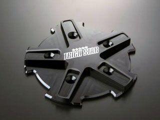 トリックスター Z1000 エンジンカバー関連パーツ アルミ削り出しクランクケースカバー ブラック