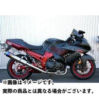 トリックスター ニンジャZX-14 スポーツキャタライザーシステム 焼チタンサイレンサー TRICKSTAR