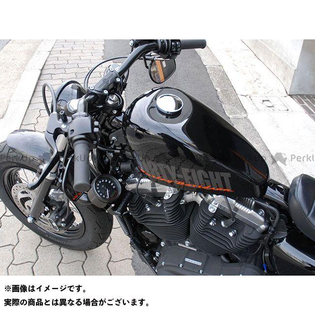 トランプ スポーツスター XL1200X フォーティエイト SCS-036B XL1200X フォーティーエイト用 Side Mount Meter Bracket (Black) Tramp Cycle