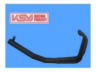 ケイエスワイ GSX400Sカタナ マフラー本体 SUZUKI GSX400S刀 ショート管 ブラック