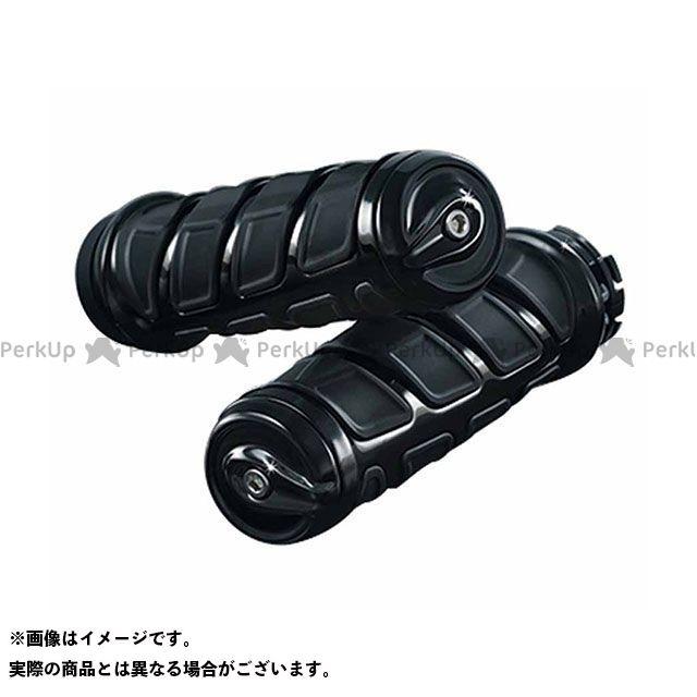 クリアキン KINETIC グリップ 2本引きケーブルスロットル車 カラー:ブラック kuryakyn