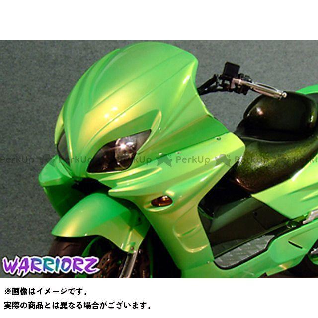 ウォーリアーズ フォルツァ サイドカウルV2 カラー:純正色塗装済/フォースシルバーメタリック WARRIORZ