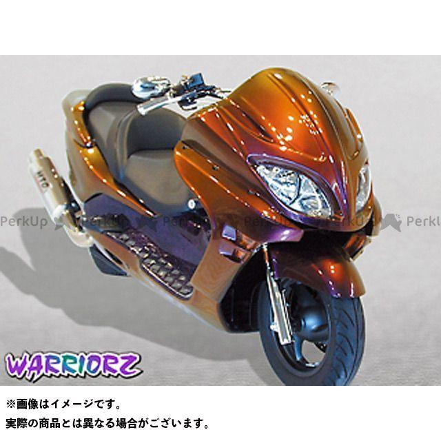 ウォーリアーズ フォルツァX フォルツァZ エアロフェイスV1・前期用 カラー:純正色塗装済/ピュアブラック WARRIORZ