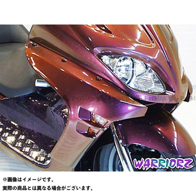 【エントリーで更にP5倍】ウォーリアーズ フォルツァX フォルツァZ サイドカウルV1 カラー:純正色塗装済/クリッパーイエロー WARRIORZ
