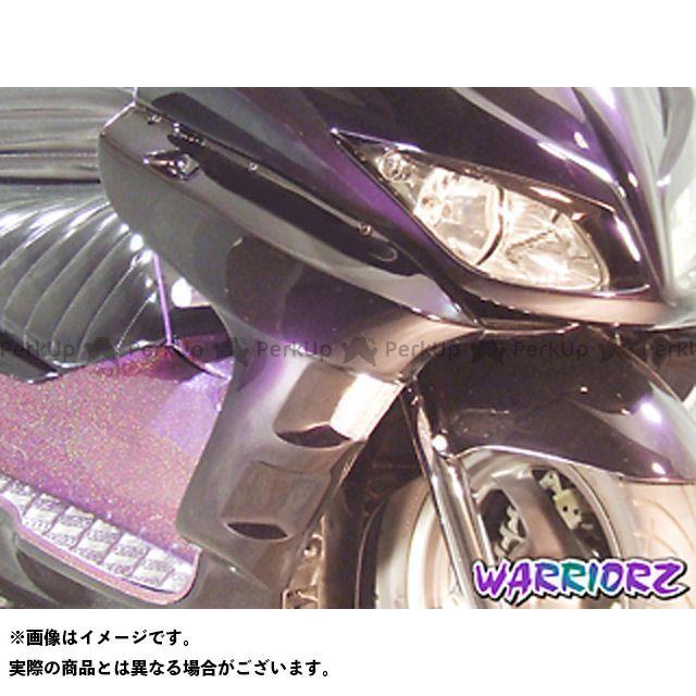 【エントリーで更にP5倍】ウォーリアーズ フォルツァX フォルツァZ サイドカウルV2 カラー:純正色塗装済/ピュアブラック WARRIORZ