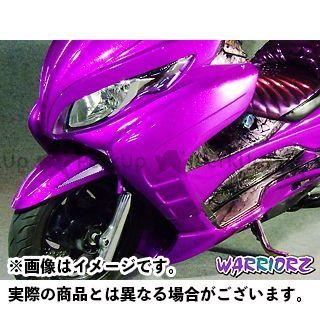 ウォーリアーズ スカイウェイブ250 サイドカウルV1 カラー:純正色塗装済/パールビガーブルー(YKY) WARRIORZ