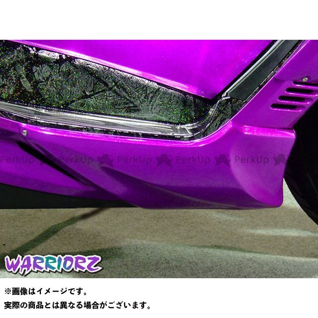 ウォーリアーズ スカイウェイブ250 アンダーカウル カラー:純正色塗装済/パールネブラーブラック(YAY) WARRIORZ